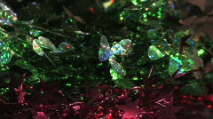 Rotating Clover Leafs and Red Stars HD720 Stock Footage