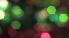 Abstract Rotating Lights HD720 Stock Footage