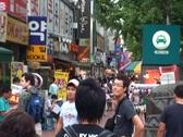 Seoul Street Scene 4 SD Stock Footage