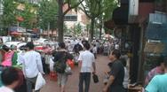 Seoul Street Scene 3 Stock Footage