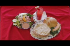 Clam Chowder Stock Footage