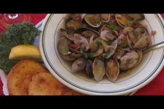 Seafood Dish Stock Footage