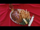 Stock Video Footage of Restaurant Food