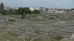 Jewish cemetery on Curacao Stock Footage