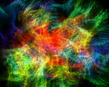 Colour Flakes Loopable Background Stock Footage