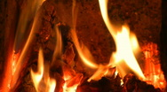 Dancing fire Stock Footage