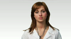 Potrait of a Doctor in HD Stock Footage