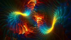 Spectrum spirals Stock Footage