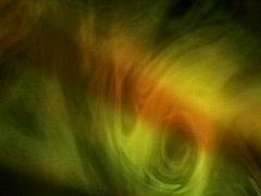 VJ Loop 374 Smoke2 Orange Stock Footage