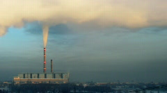 Electric power station 2 Stock Footage