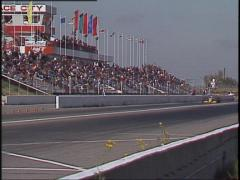 Motorsports, American Indy Car race, wide Stock Footage