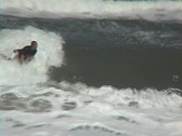 Stock Video Footage of Surfing Air Wipeout