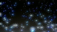 Falling Sparkles Stock Footage