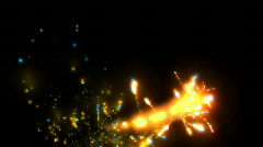Fairy Dust (Alpha included) Stock Footage