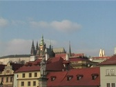 Stock Video Footage of Prague castle panorama