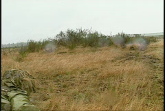 military, soldiers training, firefight, #8 - stock footage