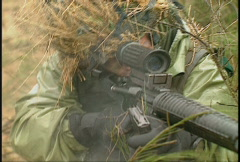 Military, soldiers training, firefight, #4 Stock Footage