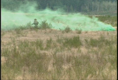 Military, soldiers training, firefight, #3 Stock Footage