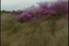 Running through smoke grenade Stock Footage