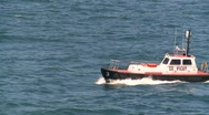 Stock Video Footage of pilot boat, #2