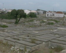 Jewish cemetery on Curacao PAL Stock Footage
