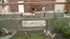 House moved off it's foundation, #8 Stock Footage
