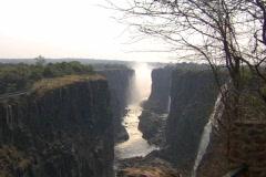 Victoria Falls Dry Season - stock footage