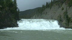 Bow Falls, Banff, #5 Stock Footage