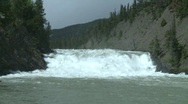Stock Video Footage of Bow Falls, Banff, #5
