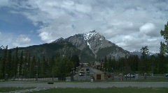 Banff town icon shot, #6 Stock Footage