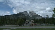 Stock Video Footage of Banff town icon shot, #6