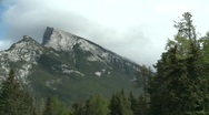 Stock Video Footage of Mount Rundle, Banff