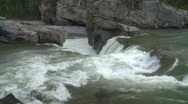 Stock Video Footage of river and waterfall, waterfalls, mountain river, #3