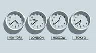 Clocks Stock Footage