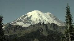 Mount Rainier Stock Footage