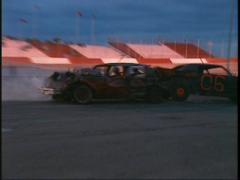 Motorsports, demo derby, #4 Stock Footage