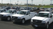 Ford Trucks Stock Footage