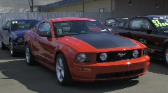 Ford Mustang Stock Footage