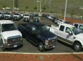 Auto Dealership Lot Shot Footage