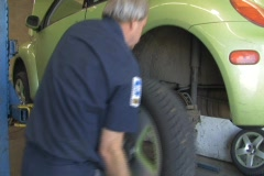 Auto Mechanic Stock Footage