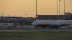 US Airways Airplane Stock Footage