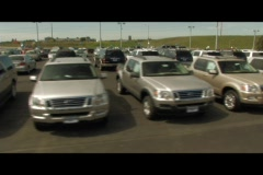Auto Dealer Stock Footage