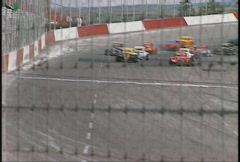 Motorsports, legends stock cars Stock Footage