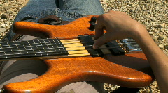 Professional musician Stock Footage