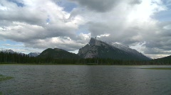 Mount Rundle, Banff, icon shot, #2 Stock Footage