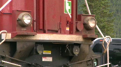 Railroad, Diesel locomotive, AC4400 Stock Footage