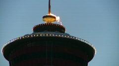 Calgary tower flame, #2 Stock Footage