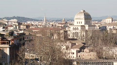 Rome Skyline - stock footage
