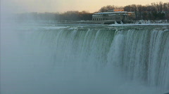 Horseshoe Falls, Niagara Falls Stock Footage