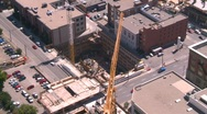 Stock Video Footage of Construction crane, time lapse, #1